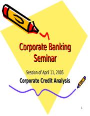 Corporate Banking 1