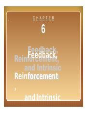 05 Feedback, Reinforcement, Intrinsic Motivation, Sep, 16 & 23.pptx