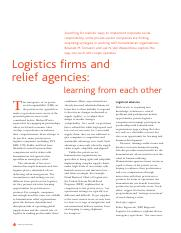 9 Logistics Firms and Relief Agencies.pdf