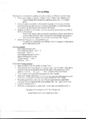 Oat Grading worksheet