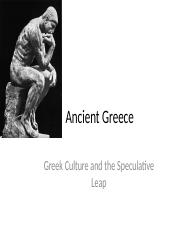 Ancient Greek Culture and the Speculative Leap-6.pptx