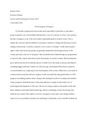 Sts Science Technology And Society  Clemson University  Pages Hour Essay Docx