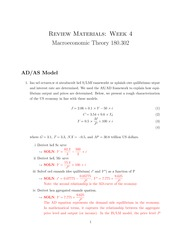 AS.180.302 Section 2 AS-AD study guide