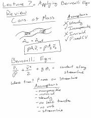 Lecture 7 Notes Bernoulli Examples