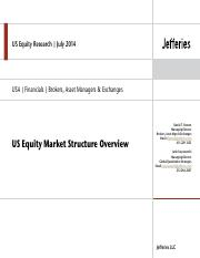Jefferies US  Equity Market Structure-July 2014.pdf
