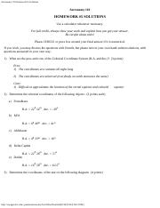 Astronomy 110 Homework #5 Solutions