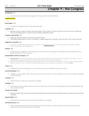 Unit 3 Study Guide - NOTES