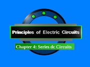 Chapter 4_Series DC circuit