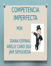 COMPETENCIA IMPERFECTA diapositiva