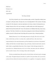 Cherry Orchard Essay 3.docx