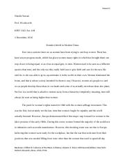 Western World Essay 3