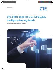 ZTE ZXR10 5950-H Series All Gigabits Intelligent Routing Switch_EN_201608(for printing).pdf