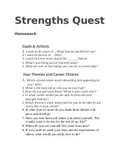 Strengths Quest Goals, Career and learning Plan (1).docx