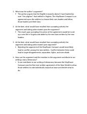 Untied States History_Week 2 Document Questions
