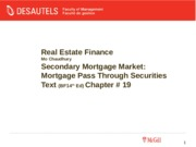 REFIN_MoC_File9_Ch19_Mortgage Pass Through Securities