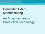 example slide presentation--on Production technology