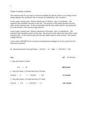 Chapter 8 enthalpy worksheet answers