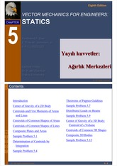 5.  Centroids and Centers  of Gravity  trakya