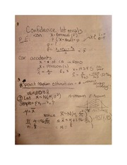 Introduction to Confidence Intervals Notes Math 352