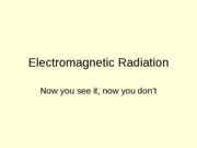 Electromagnetic%20Radiation