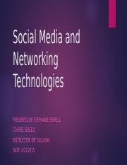 Social Media and Networking Technologies.pptx