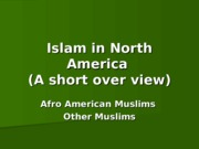 Islam in North America