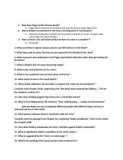 LOTF study guide