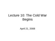 Lecture10_Cold_War_Begins