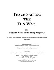 Sailing games and drills