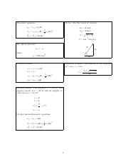 Equation sheet (Chapters 1,2,4)