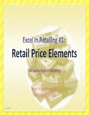 Excel in Retailing 1.ppt
