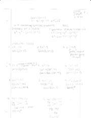 Algebra 1 Chapter 6.4 Notes