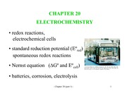 Electrochemsitry