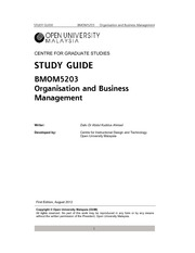 BMOM5203 Full Version Study Guide
