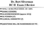 CHEM 1516 Exam 2 Review