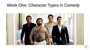 CWL 320 Character Types in Comedy