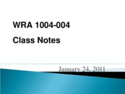 wra 1004 January_24_Rubric_ExampleWritingHistory