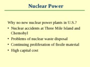 Lecture 19 - Energy Resources part 5
