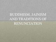 Notes on Buddhism and Jainism