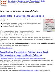 Visual Aids | Public Speaking and Presentation Skills articles.pdf