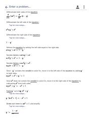 implicit derivative (dy)_(dx), y=(sqrt(x))^x^' - Implicit ... on