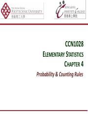 MATH CCN1028 : Elementary Statistics - PolyU HKCC - Course Hero