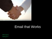 02__Email that works