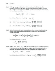 10_Chapter 24 HomeworkCH24 Wave Optics