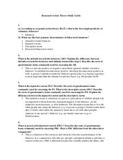 Reasoned Action Theory Study Guide.docx