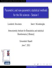 statistical methods for the life sciences LB