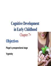 Ch 7 Cognitive Development in Early Childhood