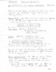 MATH 544 Fall 2014 Solving IVPs with Laplace Transformations Notes