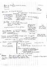 Lecture Notes on Themes in French Cinema