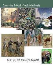 March 7 HO Threats to Biodiversity Conservation Biology(1).pdf